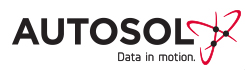 Autosol Data in Motion Logo