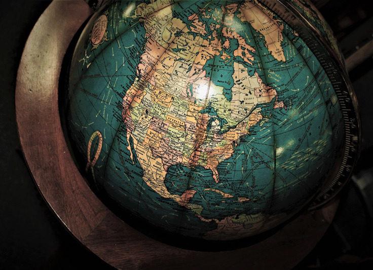 Canva - The Globe Map